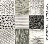 pattern background set   Shutterstock .eps vector #1179656692