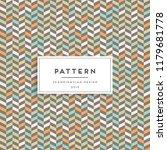 scandinavian seamless pattern.... | Shutterstock .eps vector #1179681778