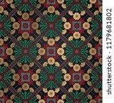 decorative tile pattern design. ...   Shutterstock .eps vector #1179681802