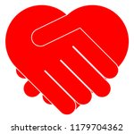 Hands Shaking Forming Heart...