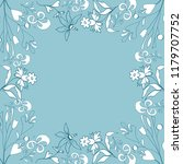 vintage style   floral elements ...   Shutterstock .eps vector #1179707752