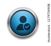 verified user   app icon | Shutterstock .eps vector #1179734908