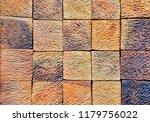 abstract brick concrete wall... | Shutterstock . vector #1179756022