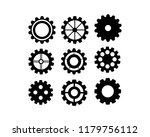 gears icon vector | Shutterstock .eps vector #1179756112