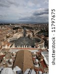 panorama of rome from a roof of ... | Shutterstock . vector #11797675