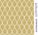 gold geometric pattern vector.... | Shutterstock .eps vector #1179773275