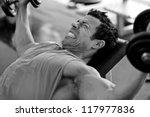 artistic shot  black and white  ... | Shutterstock . vector #117977836