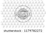 infinite retro style grey...   Shutterstock .eps vector #1179782272