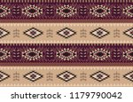 abstract ethnic pattern.... | Shutterstock .eps vector #1179790042