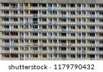facade of a dull neglected...   Shutterstock . vector #1179790432