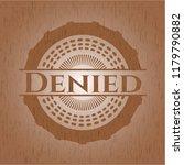 denied wood signboards | Shutterstock .eps vector #1179790882