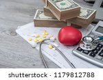 the concept of health with... | Shutterstock . vector #1179812788