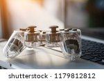 video game controller isolated... | Shutterstock . vector #1179812812