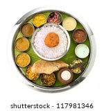 Typical South Indian Thali...