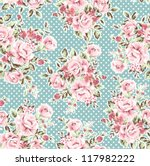 seamless wallpaper vintage... | Shutterstock .eps vector #117982222