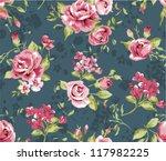 classic wallpaper seamless...   Shutterstock .eps vector #117982225