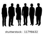 business people | Shutterstock . vector #11798632