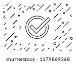 approved  accepted  acceptance... | Shutterstock .eps vector #1179869368