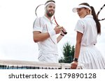 they play like a team.... | Shutterstock . vector #1179890128