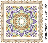decorative colorful ornament on ...   Shutterstock .eps vector #1179893455