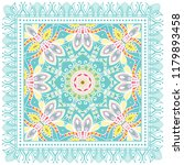 decorative colorful ornament on ... | Shutterstock .eps vector #1179893458