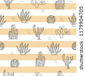vector seamless pattern with... | Shutterstock .eps vector #1179904705
