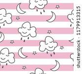 a hand drawn seamless pattern...   Shutterstock .eps vector #1179913315