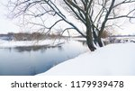 panoramic photo of a winter... | Shutterstock . vector #1179939478