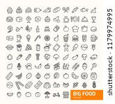 big food black thin line icon... | Shutterstock . vector #1179974995