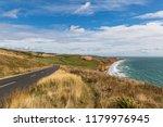 looking along the coastline of...   Shutterstock . vector #1179976945