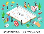 usp   unique selling... | Shutterstock .eps vector #1179983725