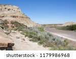 colourful rock formations in... | Shutterstock . vector #1179986968