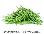 pile of green wax beans... | Shutterstock . vector #1179998068