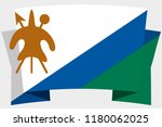 a 3d banner with the country... | Shutterstock .eps vector #1180062025