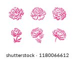 vector silhouettes of hand... | Shutterstock .eps vector #1180066612