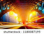 night petersburg. the light... | Shutterstock . vector #1180087195