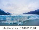 perito moreno glacier ... | Shutterstock . vector #1180097128
