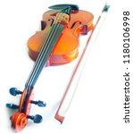 classical violin on white...   Shutterstock . vector #1180106998