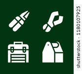 toolbox icon set. pliers... | Shutterstock .eps vector #1180107925