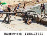 odessa  ukraine   august 19 ... | Shutterstock . vector #1180115932