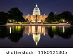 united states capitol and the... | Shutterstock . vector #1180121305