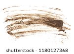 drops of mud sprayed isolated... | Shutterstock . vector #1180127368
