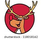 santa's reindeer | Shutterstock .eps vector #118018162