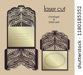 vintage vector pattern for... | Shutterstock .eps vector #1180185352