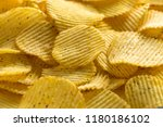 corrugated chips. background | Shutterstock . vector #1180186102