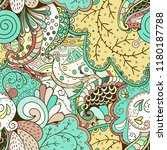 tracery seamless pattern.... | Shutterstock .eps vector #1180187788