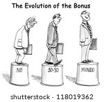 the evolution of the bonus | Shutterstock . vector #118019362