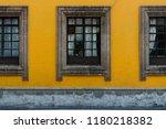 windows in mexico city | Shutterstock . vector #1180218382