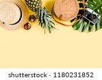 women's accessories traveler ... | Shutterstock . vector #1180231852