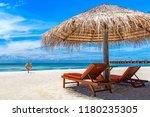 maldives   june 24  2018 ... | Shutterstock . vector #1180235305